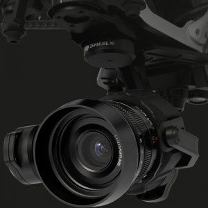 DJI Drone Zenmuse X5 Inspire 1 Camera
